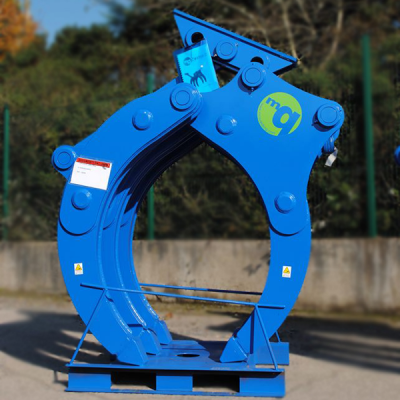 McQuaid Engineering UK Mechanical Grapple