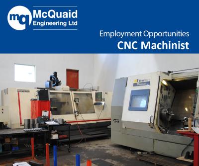 cnc machinist vacancy