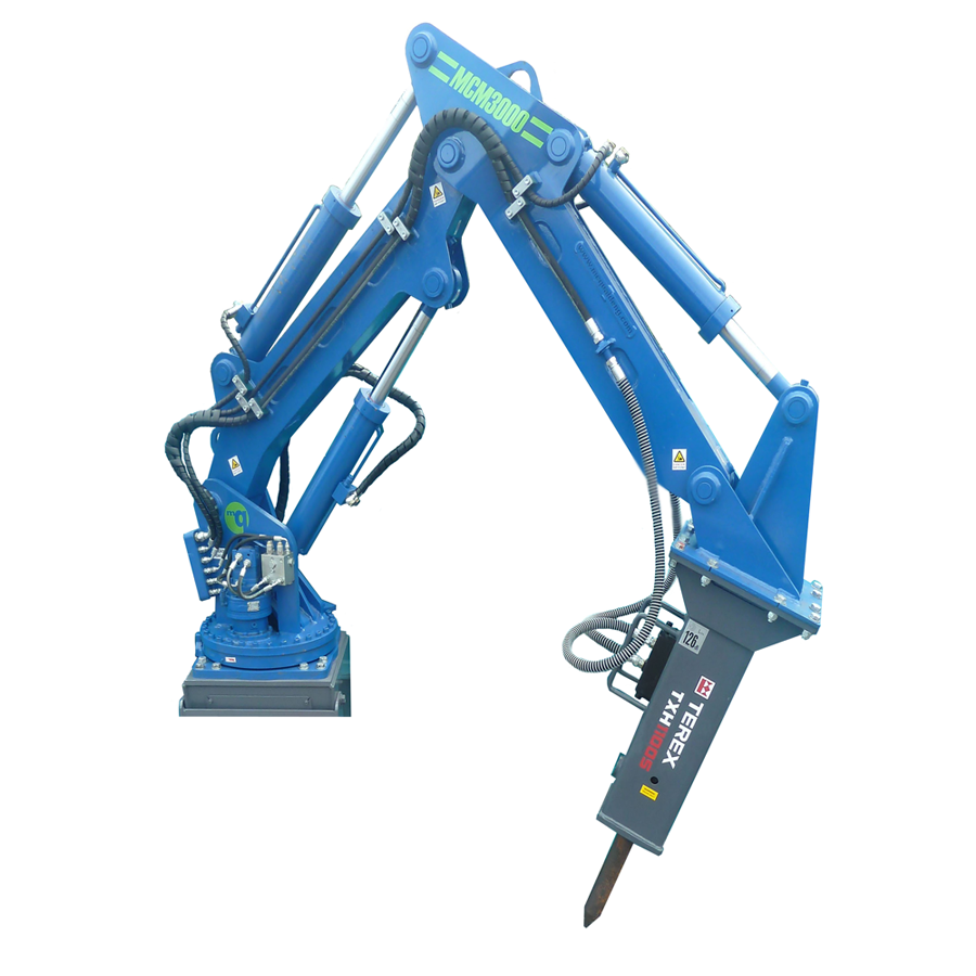 Mc Quaid Engineering Ltd Mobile Rock Breaker Boom System
