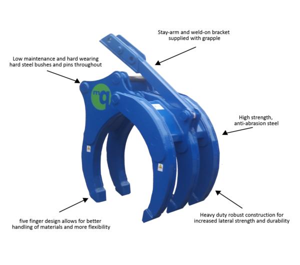 McQuaid Engineering mechanical grapple