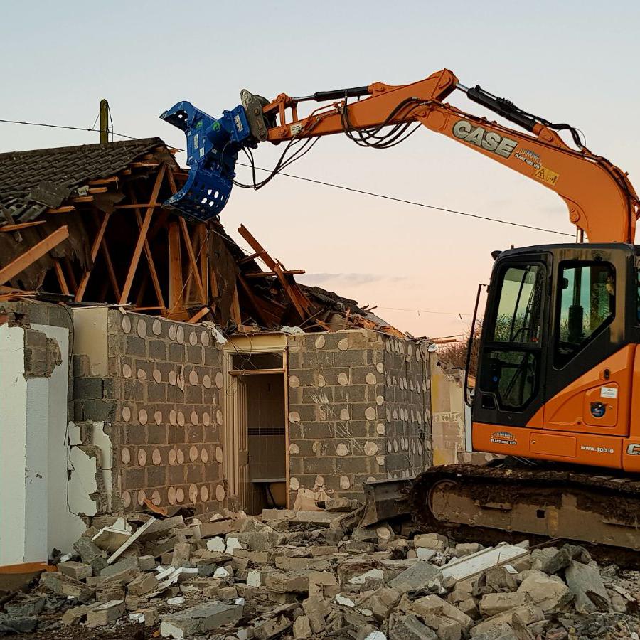 Demolition Grab - Selector Grab - McQuaid Engineering