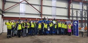 Fredheim Maskin visit McQuaid Engineering