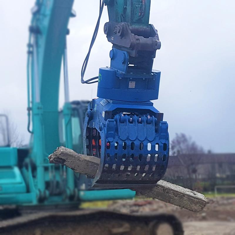130 Selector Grab Demolition Grab, McQuaid Engineering