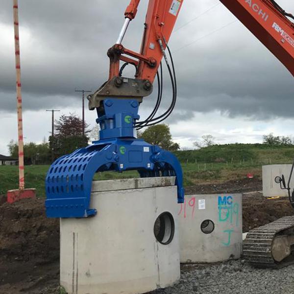 McQuaid Engineering Selector Grab Demolition Grab UK