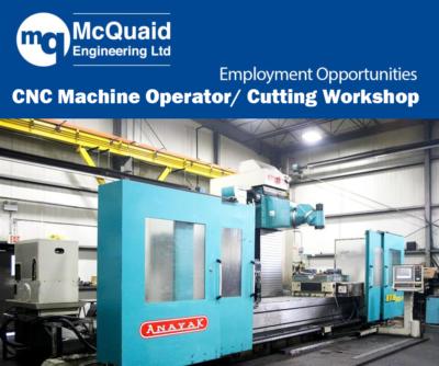 cnc machine operator cutting workshop