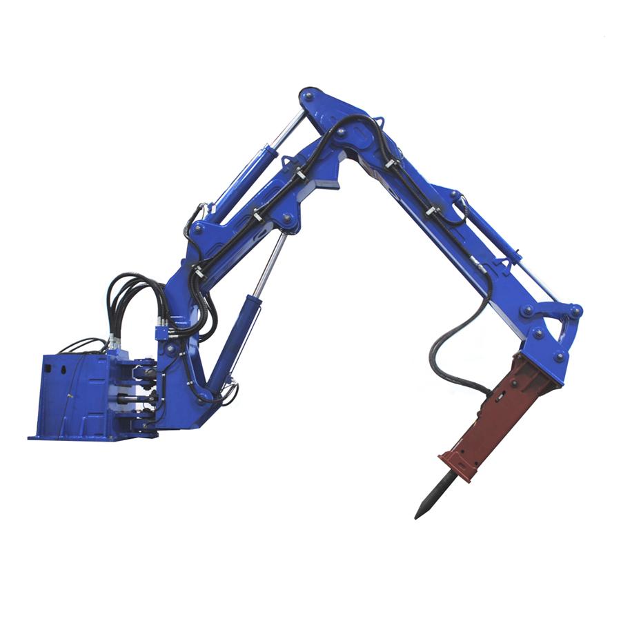 Pedestal Rock Breaker Boom Systems | Mining & Quarry Equipment