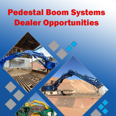 dealer opportunities pedestal boom systems