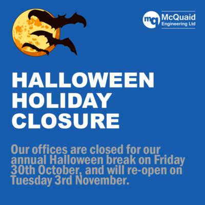 halloween holiday closure