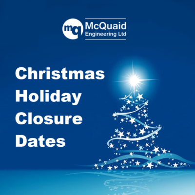 Christmas Holiday Closure 2020